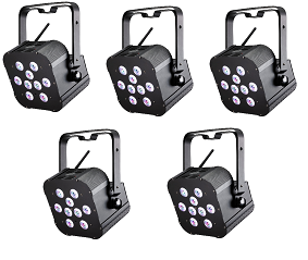 Pack Changeurs de couleur à led sur batterie