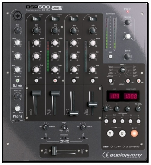 Table de mixage dsp 600 Audiophony