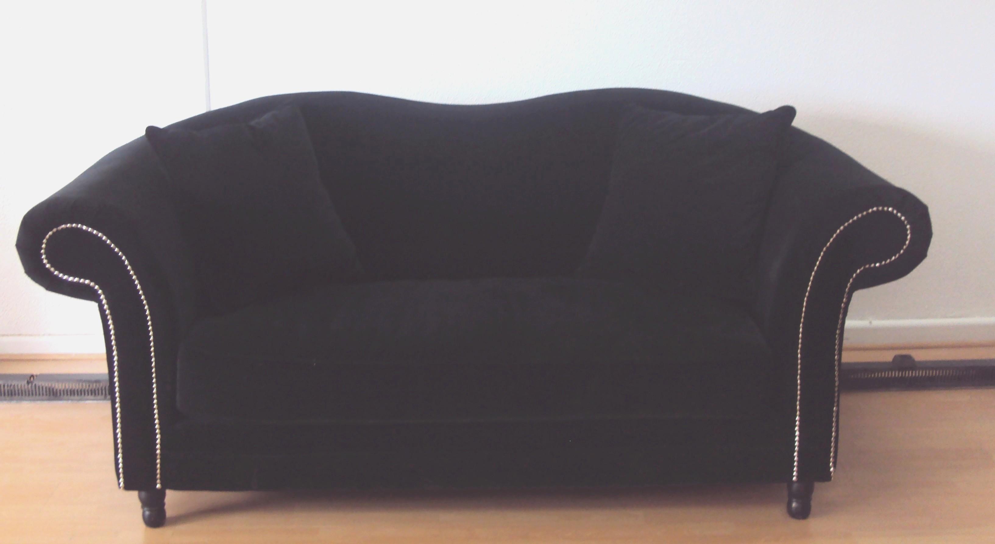 Canapé velours