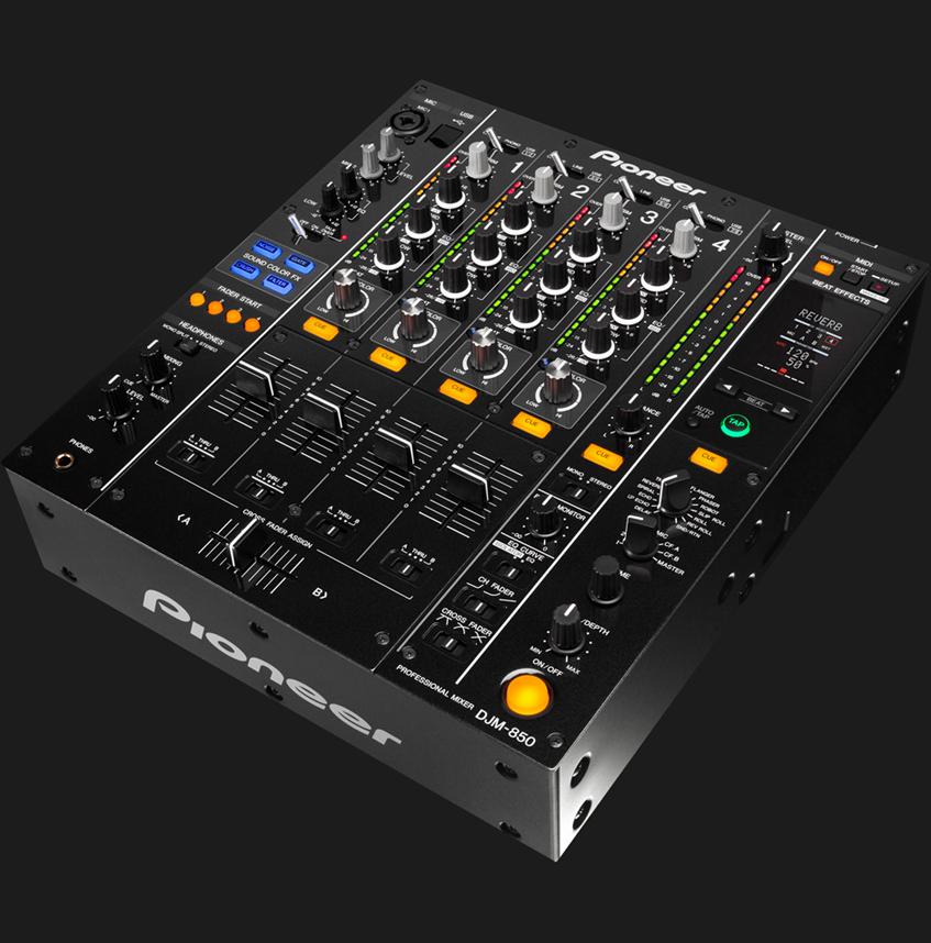 TABLE DE MIXAGE DJM 850k HAUT DE GAMME PIONEER