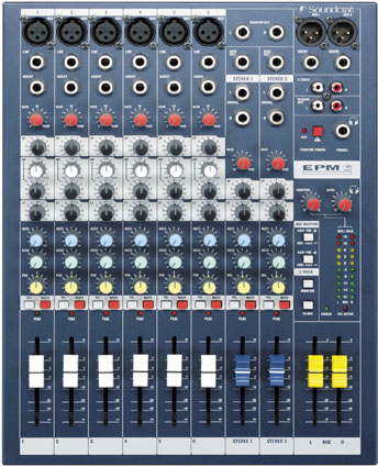 Table de mixage epm6 Soundcraft