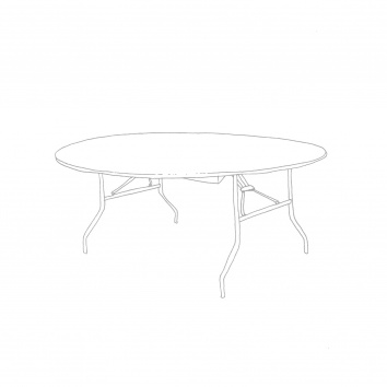 Table ronde 152cm