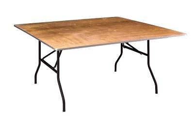 Table carrée 152x152cm